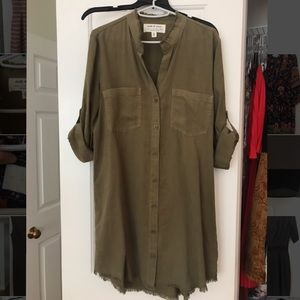 Anthropologie shirt dress (clothes and stone)